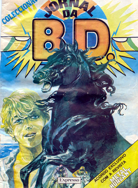 Black Stallion Book Cover : Portuguese cover the black stallion