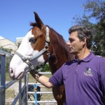 Tim Farley and Horse