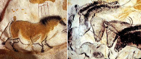 lascaux, france cave horses