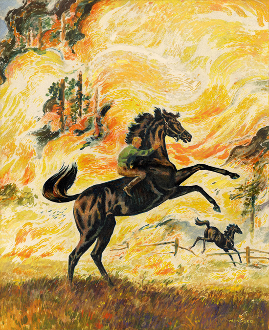 Black Stallion and Satan 1949