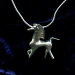 Bucephalus Silver Pendant