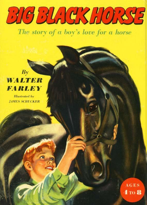 Big Black Horse Cover