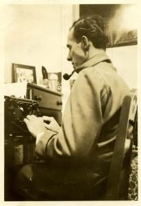 dad writing
